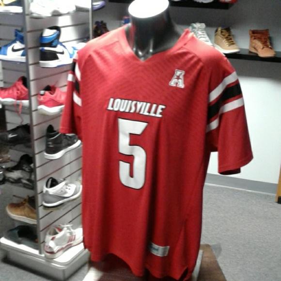 brand new 0f244 75a4f Louisville Cardinals Teddy Bridgewater Jersey